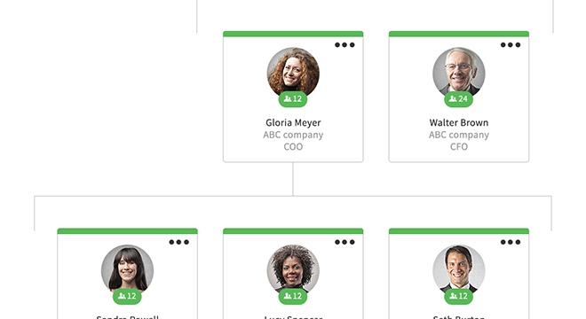 org chart clip