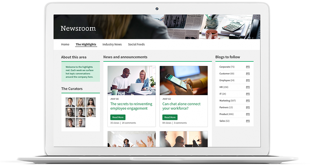 Intranet Newsroom Solution